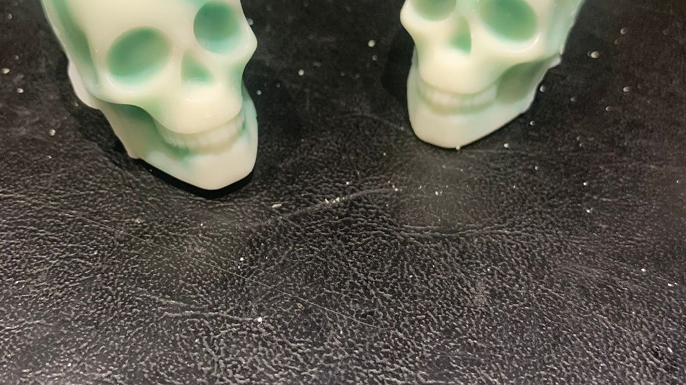 Skull scented wax melts