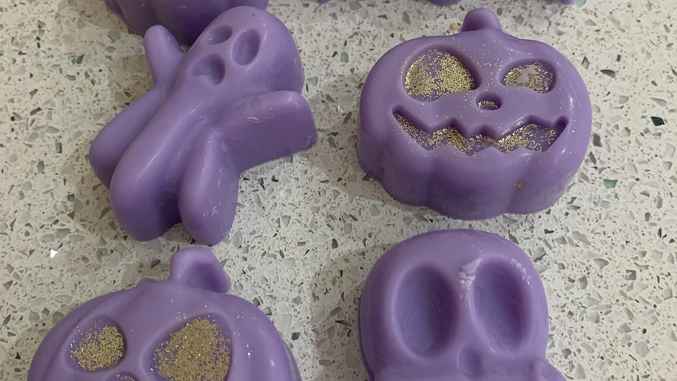Halloween shaped large scented wax melts