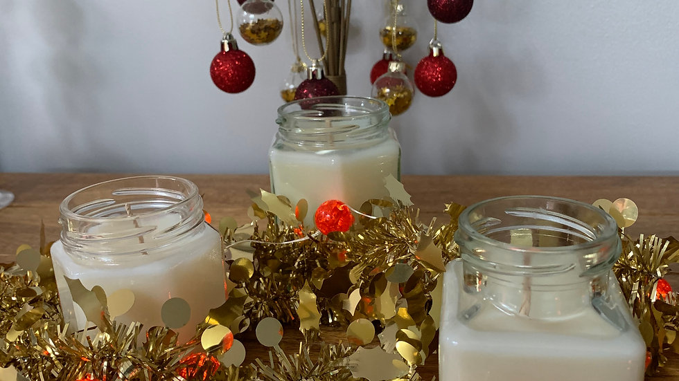 Christmas Spice Scented Container candle
