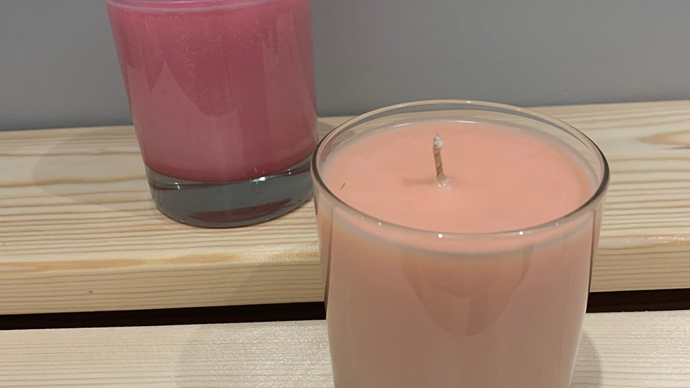 Embers and Fireworks Container Candle