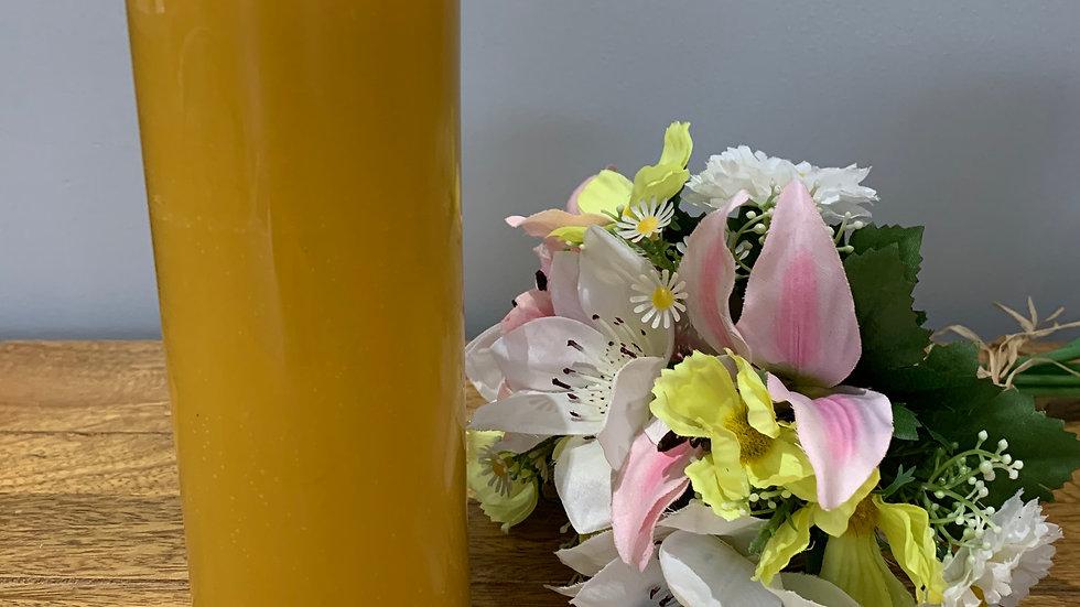 Beeswax Large  Pillar candle