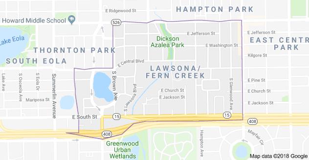 LAwsona map