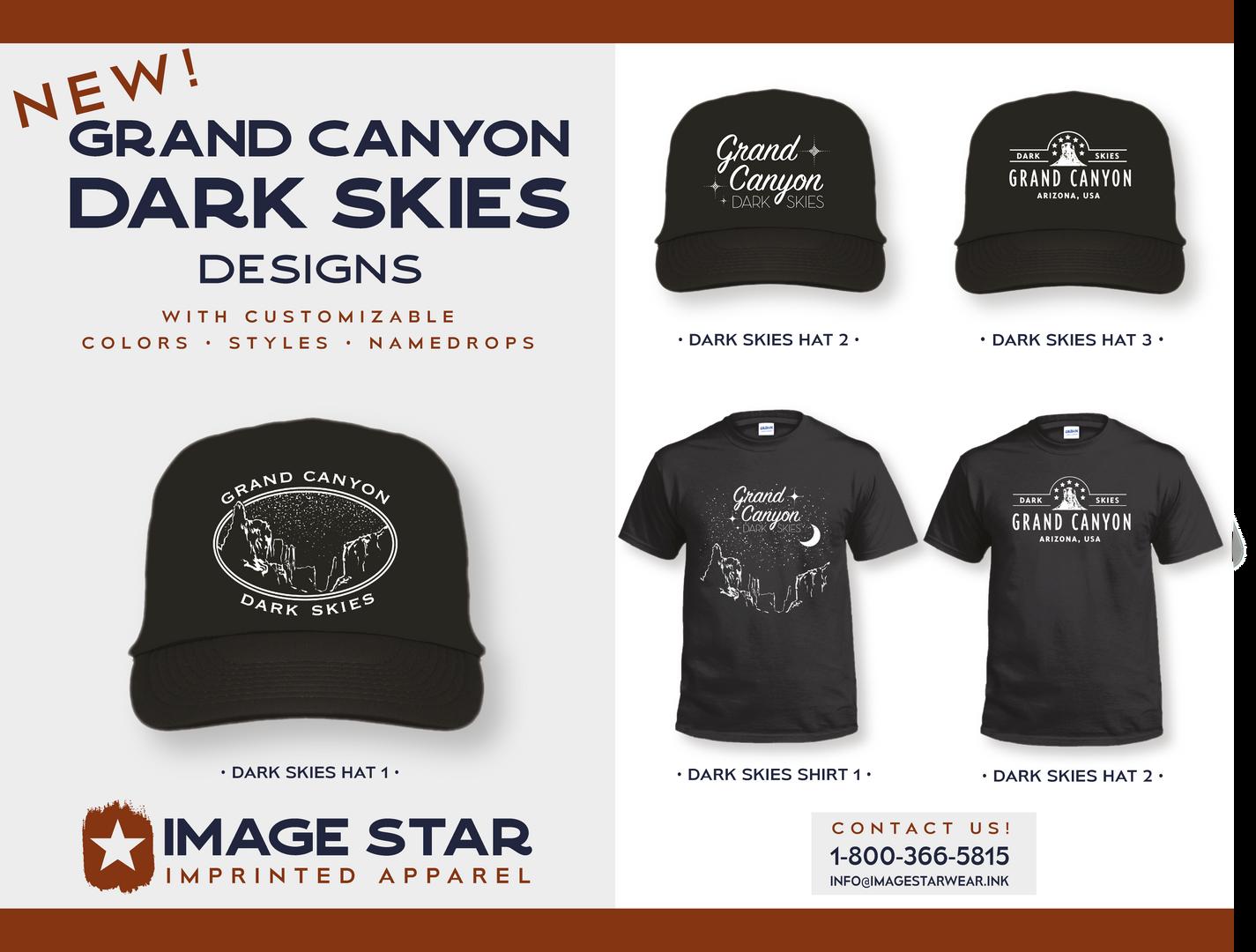 Grand Canyon Dark Skies Designs