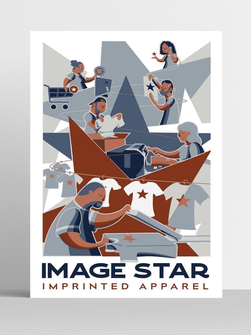 Image Star Poster Mock Up