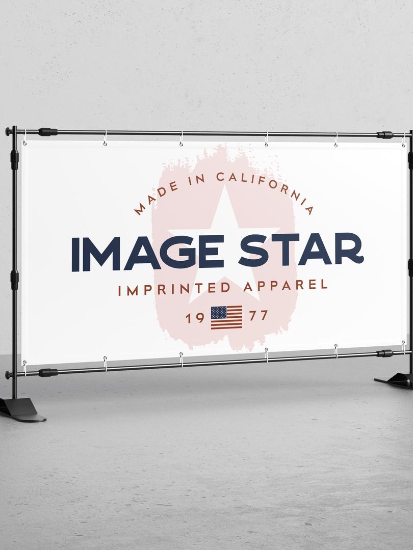 Image Star Banner Mockup