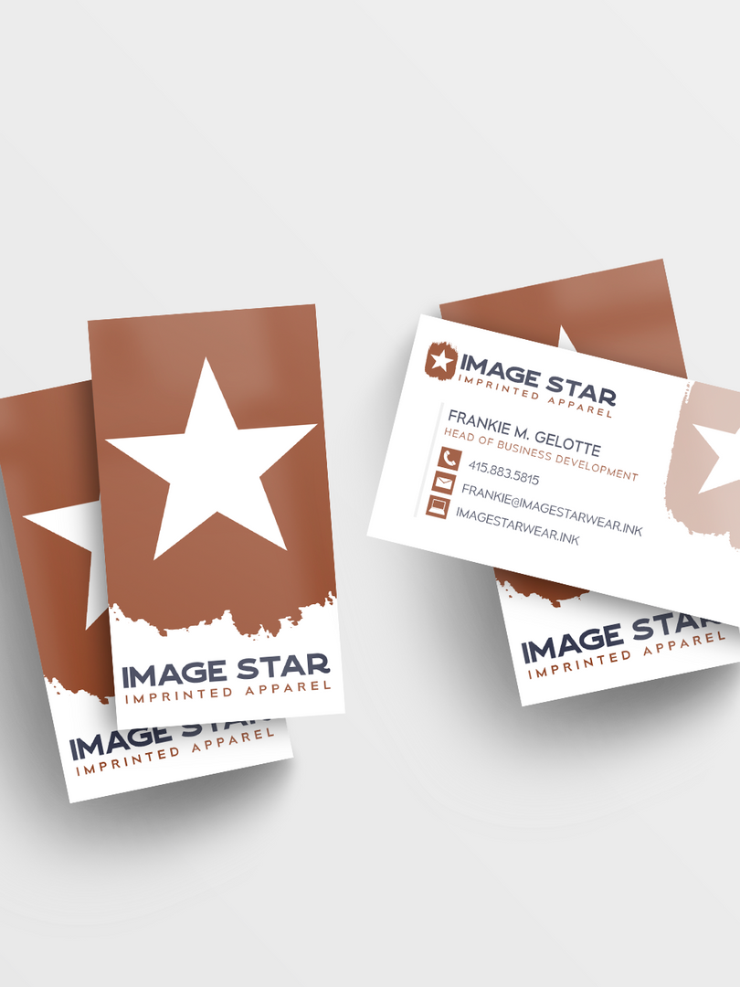 Image Star Business Card Mockup