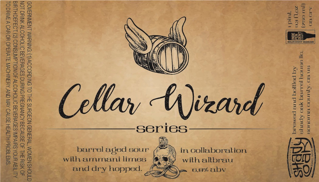 Cellar Wizard Label
