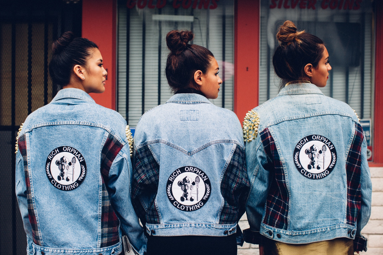 Back Patches Shoot