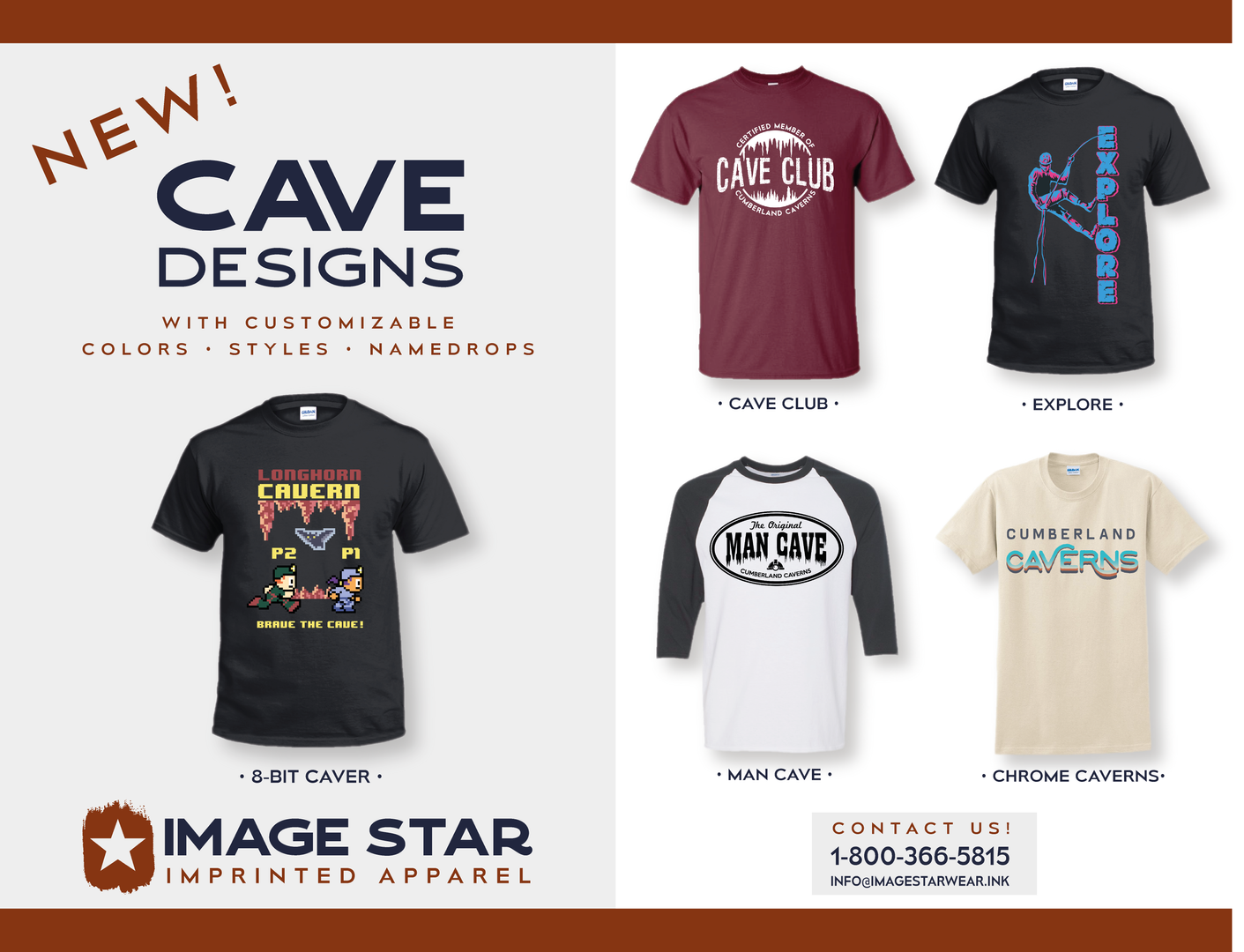 Cave and Cavern Designs