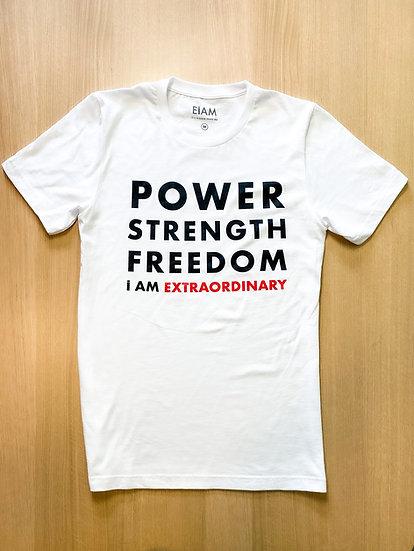 POWER.STRENGTH.FREEDOM T-SHIRT