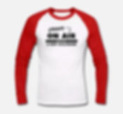 T Shirt manche longue ON AIR RADIO Red 22,99€