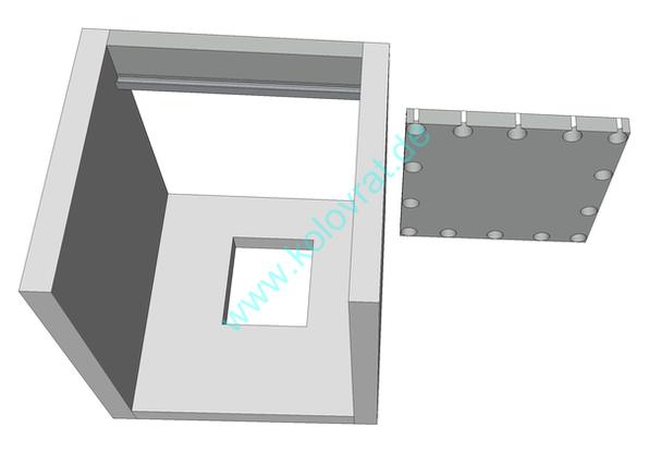 Deckenausschnitt 3D