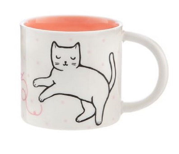 Sass & Belle Cutie Cat Feline Good Porcelain Mug