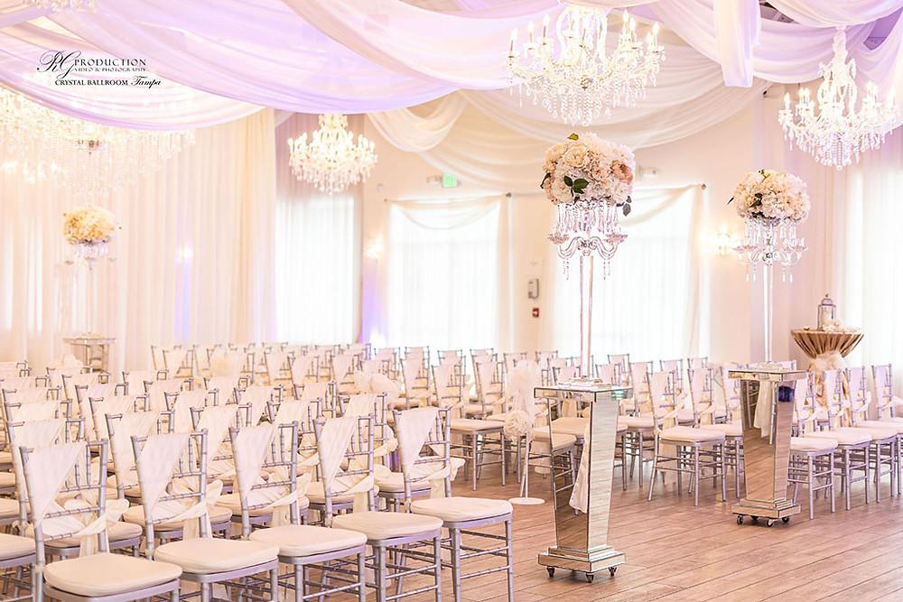 Wedding Officiant at Crystal Ballroom North Tampa
