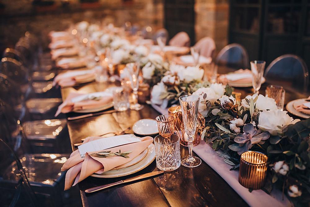 Tuscany Wedding Theme