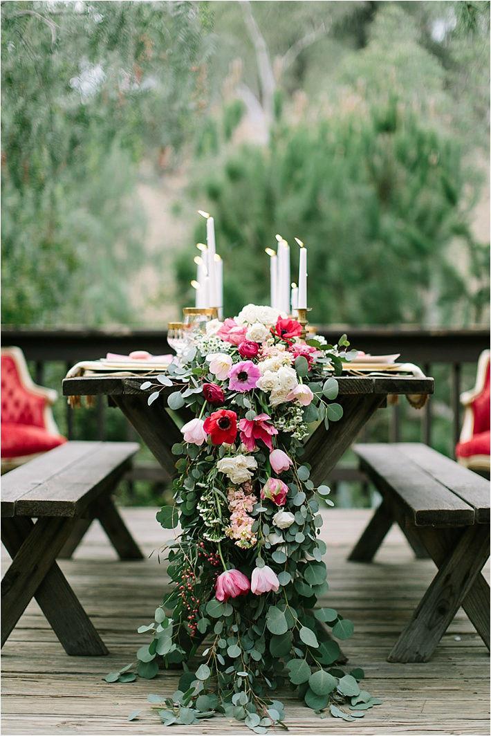 Exquisite Winter Wedding Flowers
