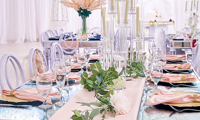 Designing Wedding Reception Tables