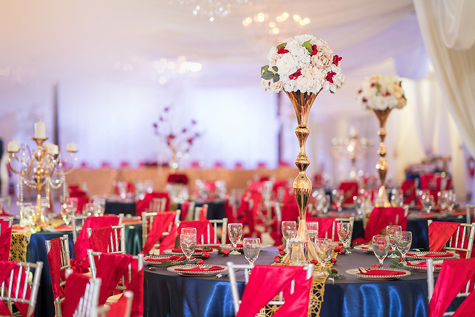 Crystal Ballroom North Tampa Wedding Venue