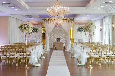 Fully Designed Ceremony Space