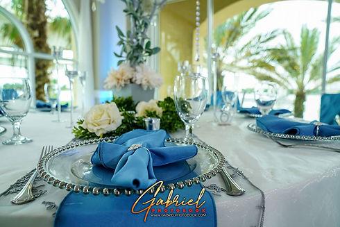 Crystal Ballroom Beach Wedding