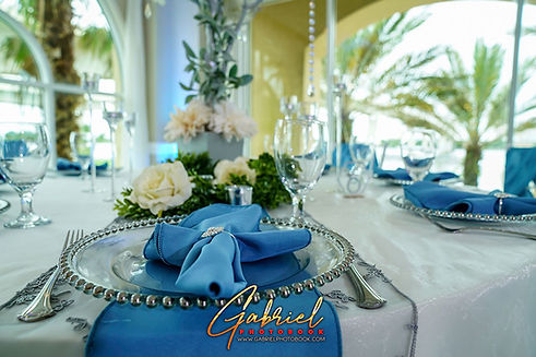 Crystal Ballroom Beach Wedding