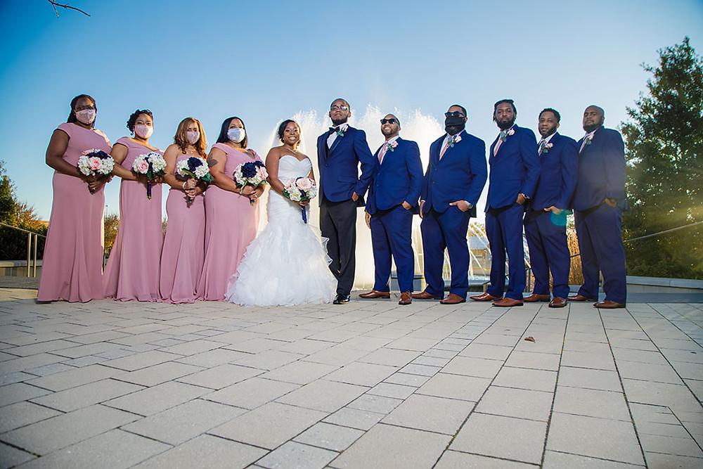 Wedding Ceremony at Crystal Ballroom Rock Hill