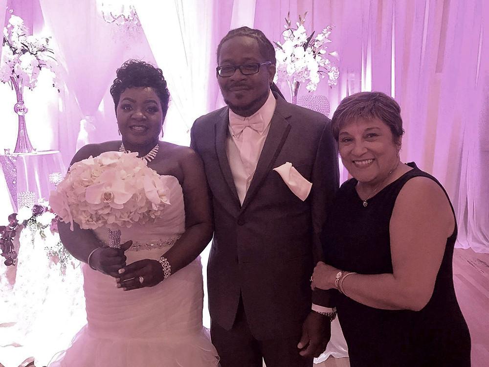 Wedding Officiant at Crystal Ballroom