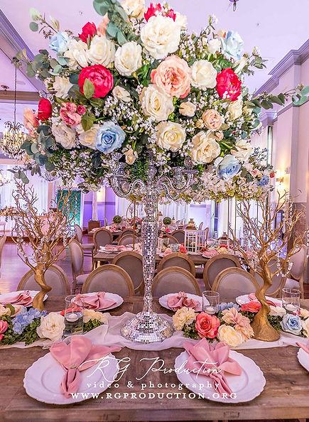 Wedding Catering at Crystal Ballroom