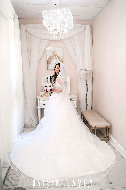 Bridal suite at your wedding venue