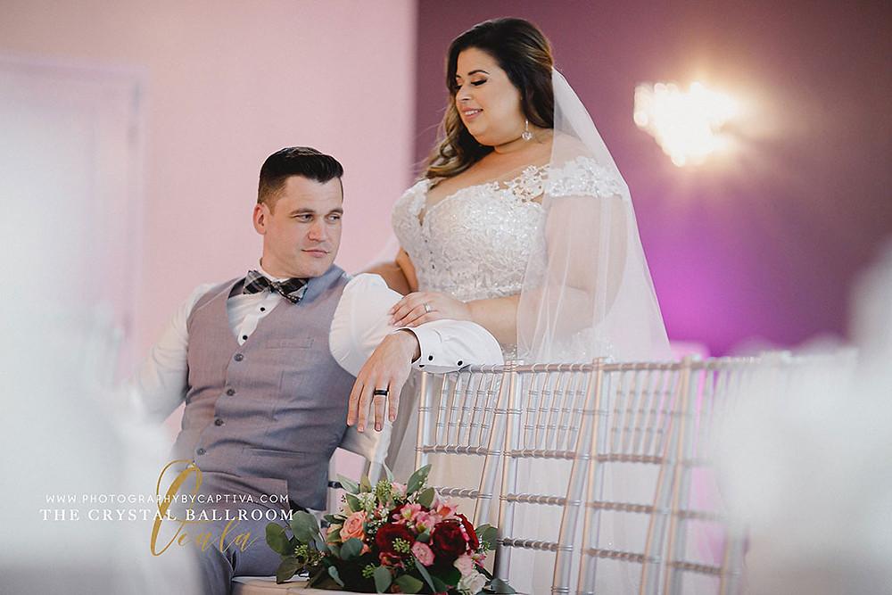 Wedding Photography at Crystal Ballroom Ocala
