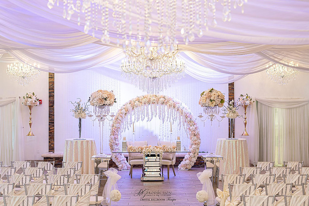 Wedding Planning at Crystal Ballroom North Tampa