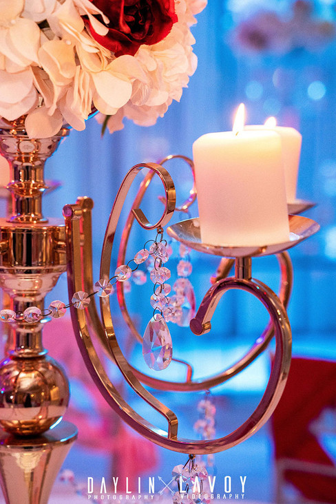 Centerpieces at your wedding venue