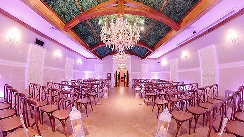 Ceremonies at Crystal Ballroom Lake Mary Banquet Hall