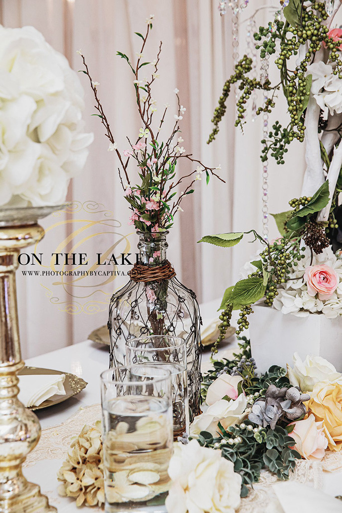 Wedding Flowers at Crystal Ballroom on the Lake