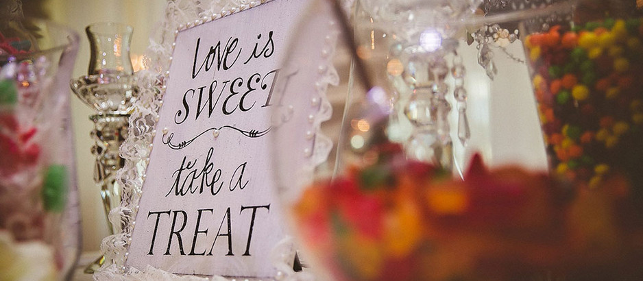 Candy Bar at Your Wedding Venue