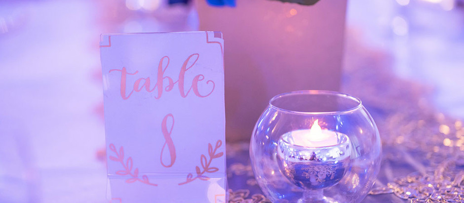 Creating a Wedding Seating Chart
