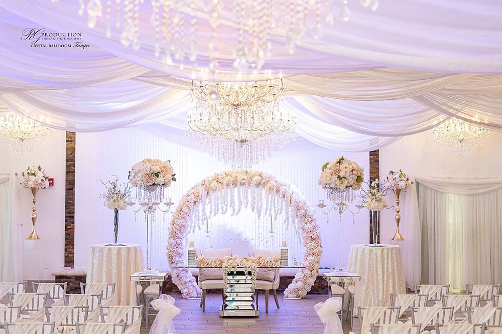Crystal Ballroom Wedding Venue