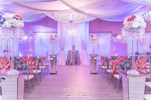 Elegant ceremony space