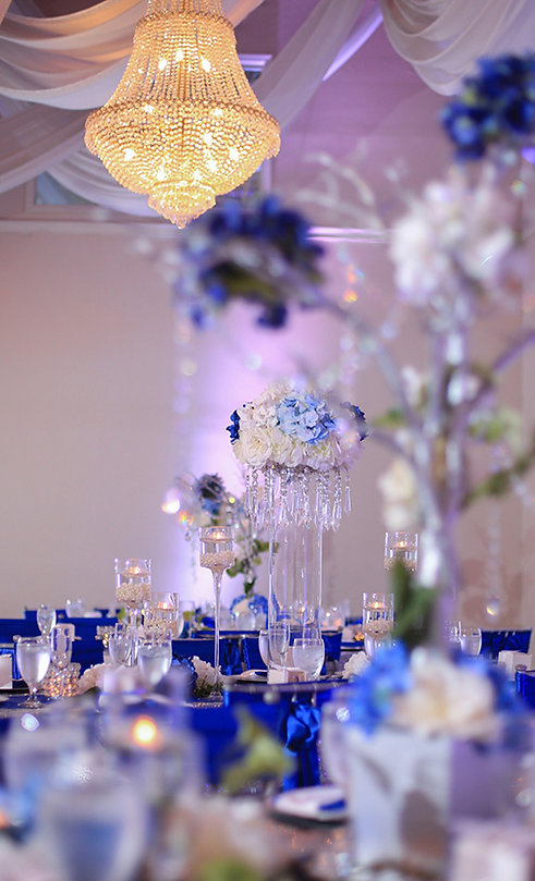Receptions at a Banquet Hall