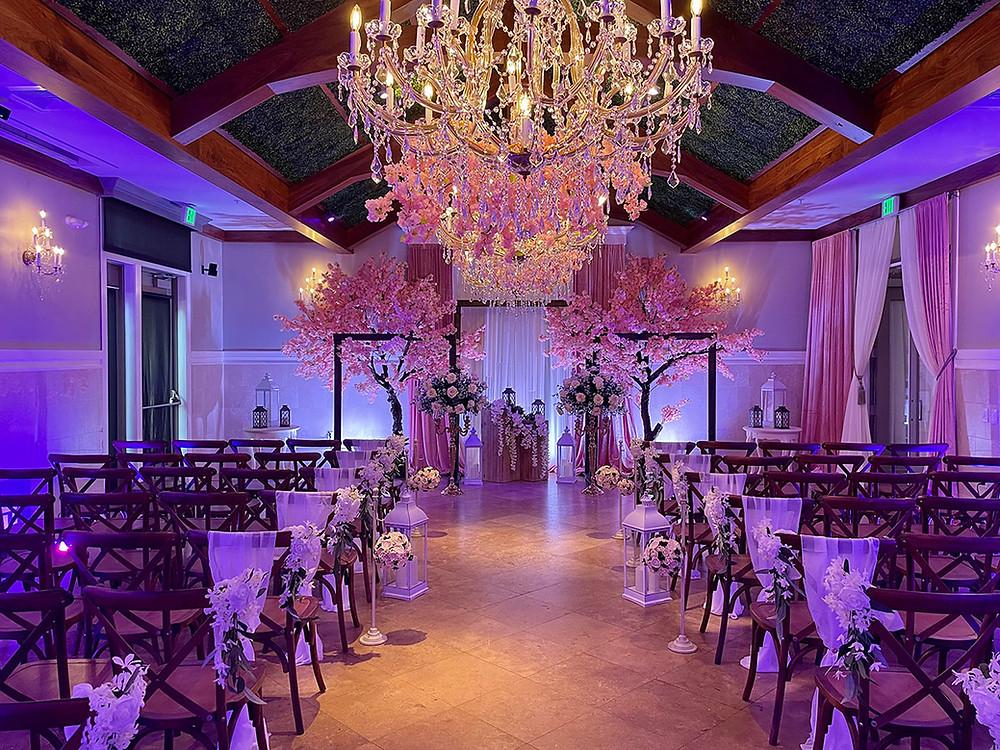 Crystal Ballroom Lake Mary Wedding Venue