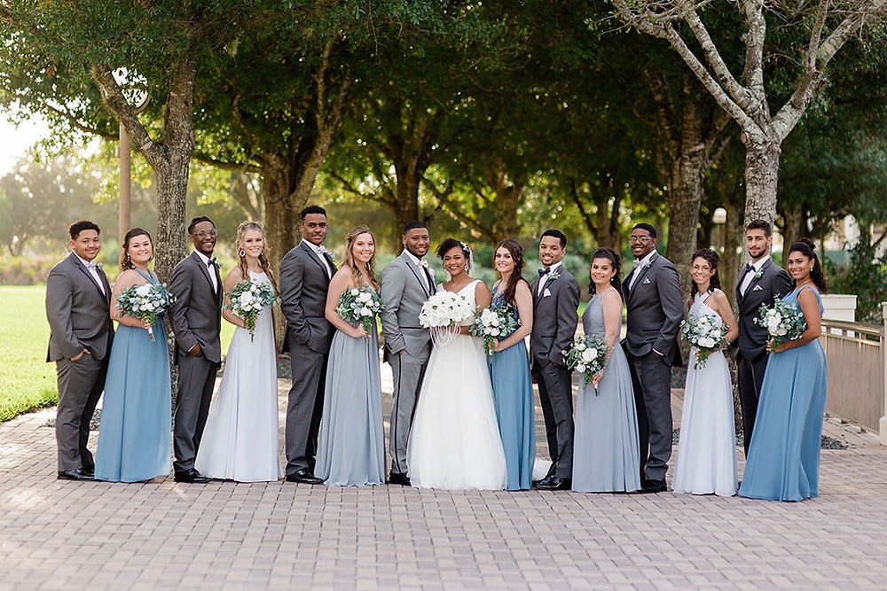Selecting Your Wedding Party