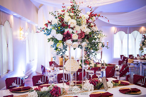 Fully Designed and Decorated Event