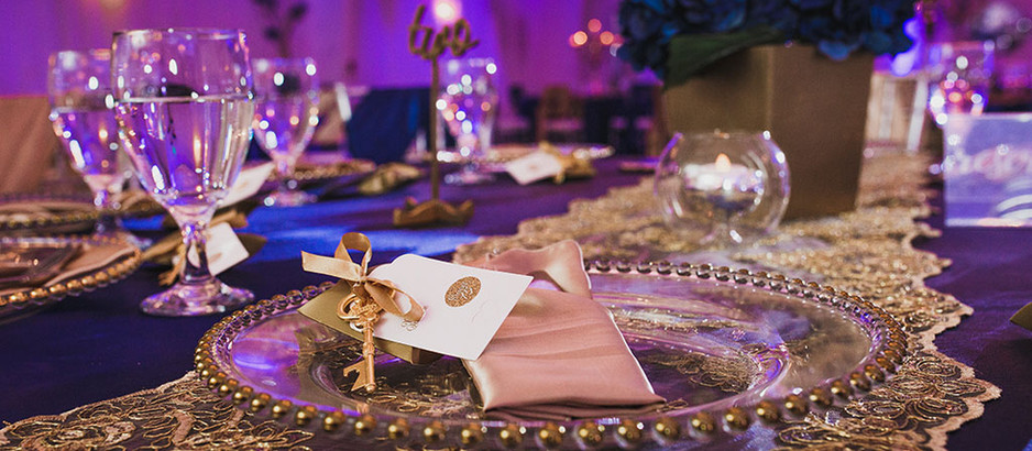 Setting the Table at Your Wedding Venue