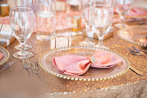 Formal Chinaware at Your Wedding Venue