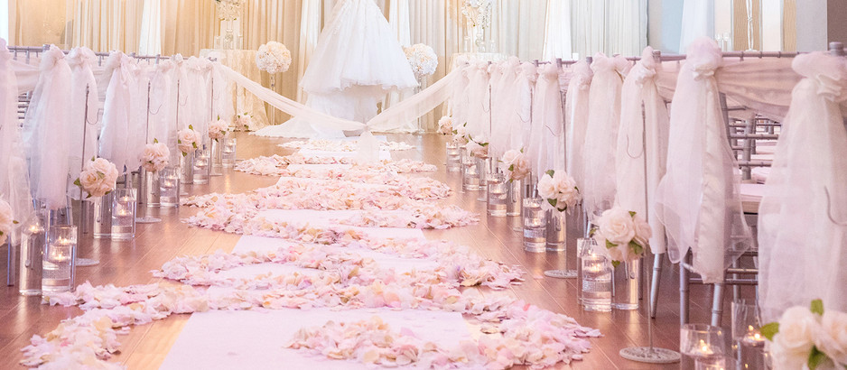 Rose Petals at Your Wedding Venue