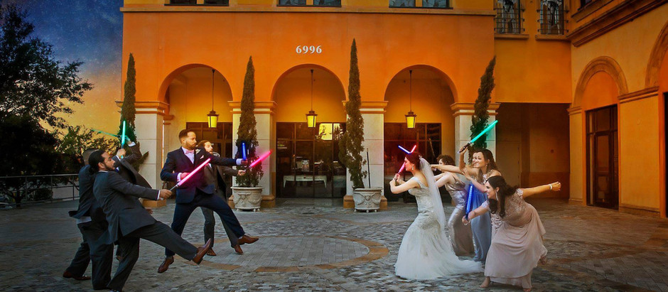 Star Wars Wedding and Honeymoon