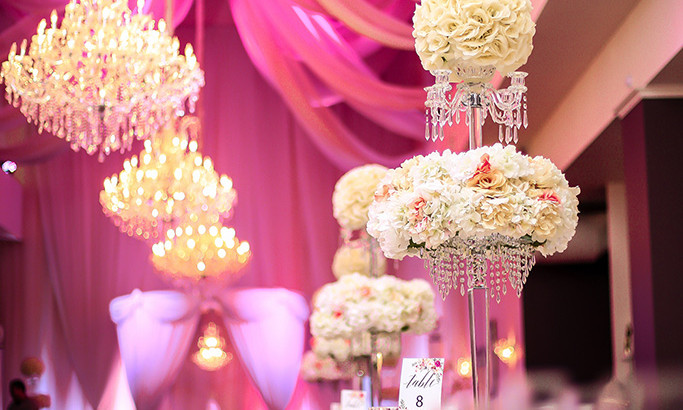 Inspiration for Wedding Centerpieces