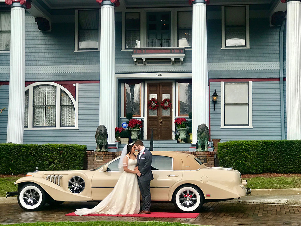 Wedding Transportation at The Crystal Ballroom