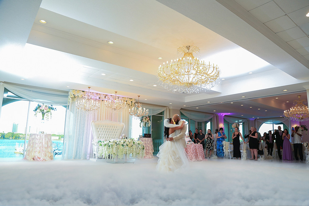 Dancing on a Cloud at Your Wedding Venue