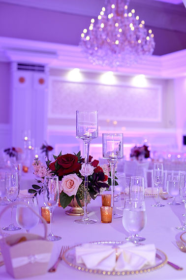 Designs and Decor at the Banquet Hall